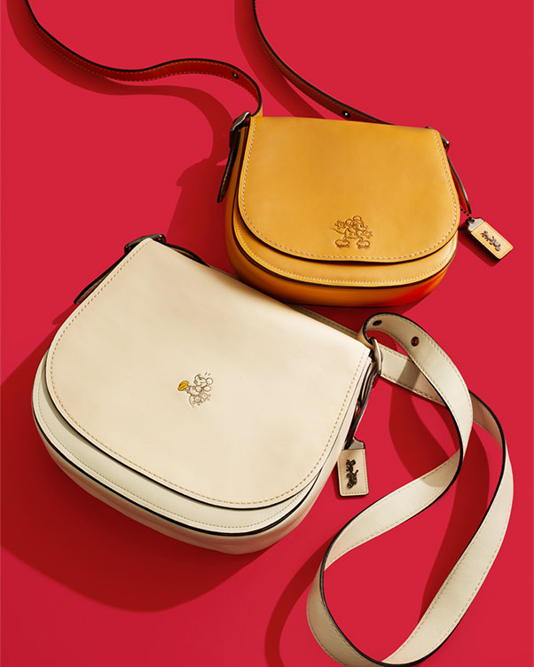 MICKEY SADDLE BAG IN GLOVETANNED LEATHER  - RM 3,350