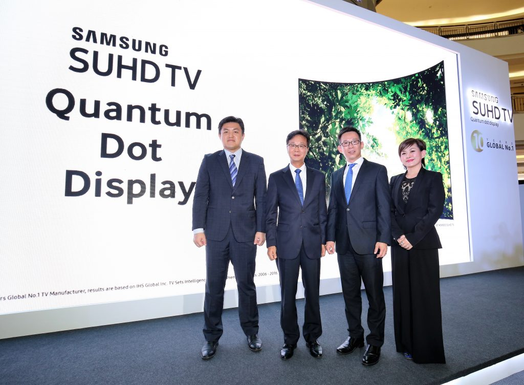 Samsung Malaysia Electronics proudly presents its 2016 SUHD TVs with Quantum dot display.