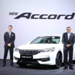 L-R: Mr. Katsuto Hayashi, Managing Director & Chief Executive Officer, Encik Roslan Abdullah, President & Chief Operating Officer of Honda Malaysia
