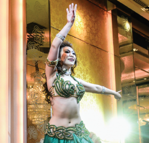 Kamelya, belly dancer