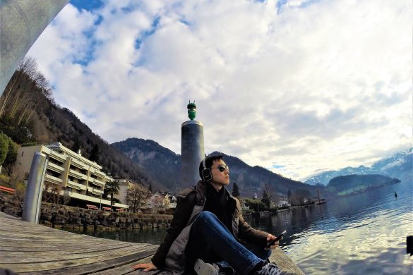 Travelling solo gives you the space to truly appreciate each moment, through your eyes alone. I strongly believe that nature brings solace in all troubles. From Vitznau to Luzern, the scenery is simply breathtaking, stunning and beautiful.