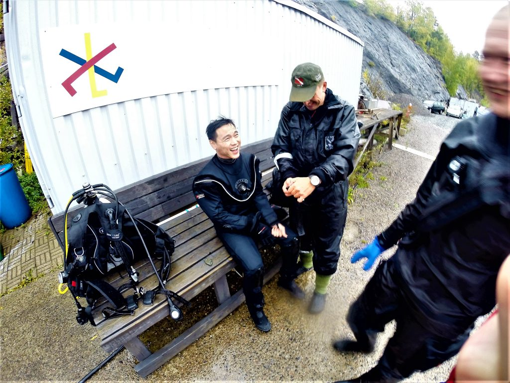 I want to do things - scuba diving, sky diving, seeing the world. I'm an avid supporter of living life to its fullest and not always waiting for tomorrow. Had my 1st cold water dive in Ojamo lime mine, Lohja, Finland.