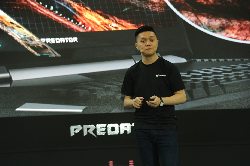 Product Presentation by Jeffrey Lai, Product Manager from Acer Malaysia