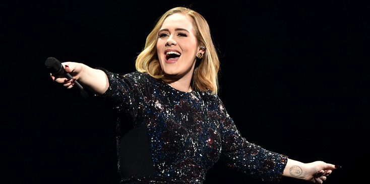 Adele Performing at Genting Arena