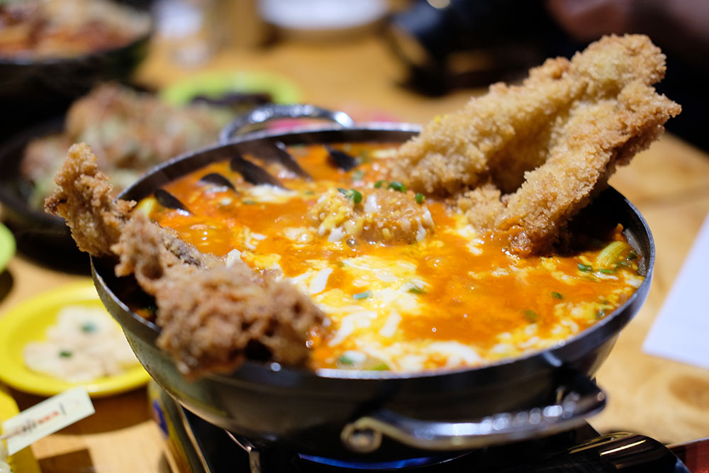 Gangnam88 Cheese Squid Rabbokgi