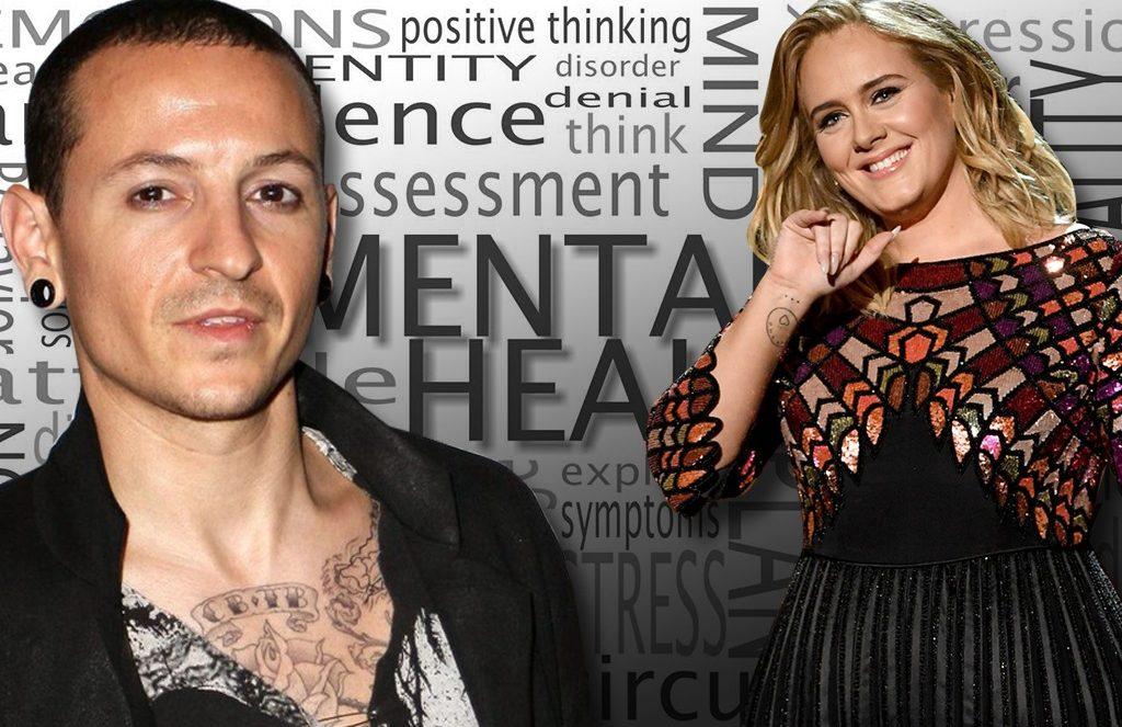 Chester Bennington & Adele