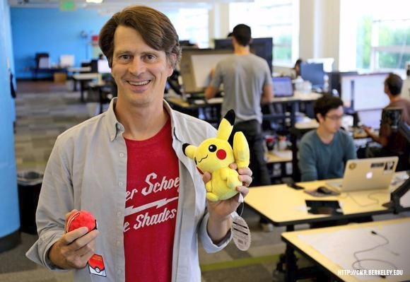 John Hanke, founder and CEO of Niantic