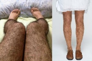 Anti Pervert Hairy Stockings