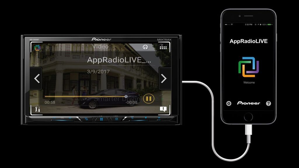 AppRadio Waze for Iphone