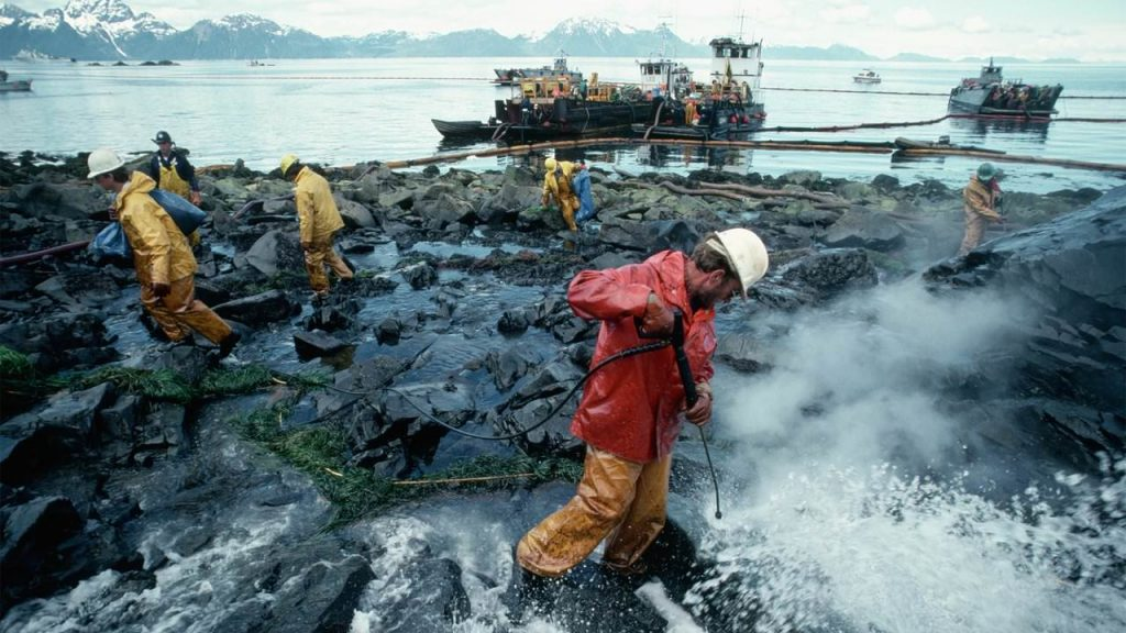 Aftermath of the Exxon Valdez oil spill