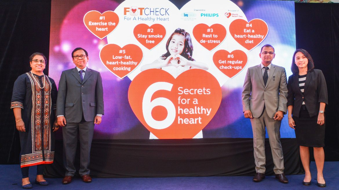 Launch of the 'Six Secrets for a Healthy Heart' campaign