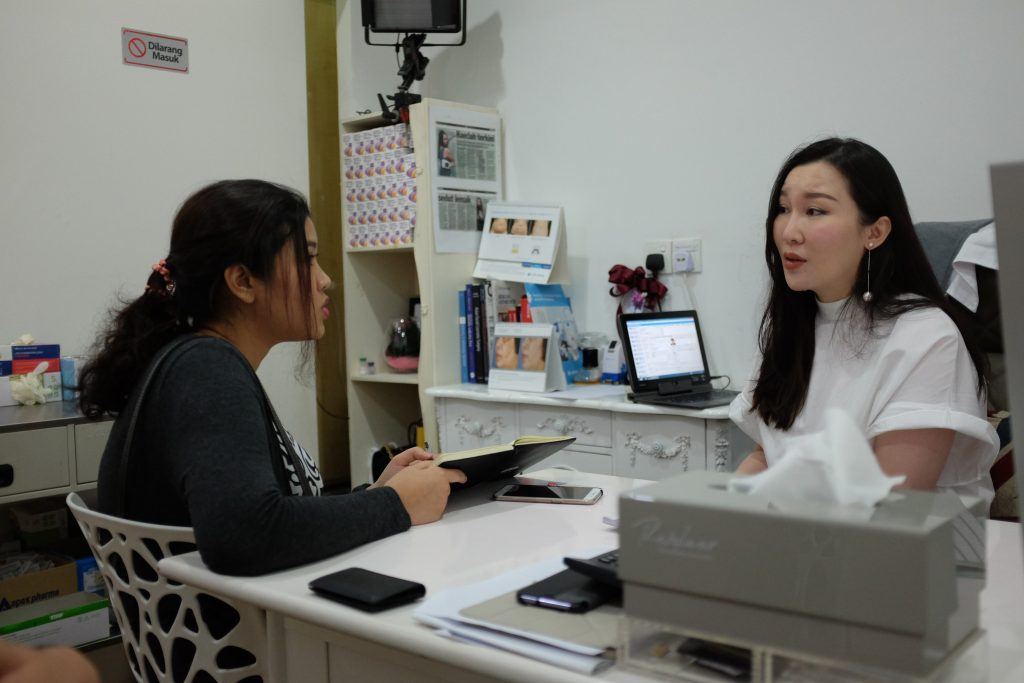 Dr.Rachel Chew talks more about her clinic to our Editor.