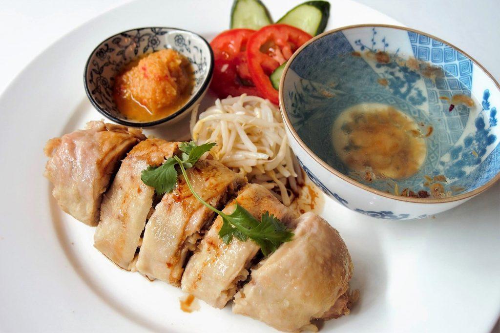 Chicken Rice Roulade