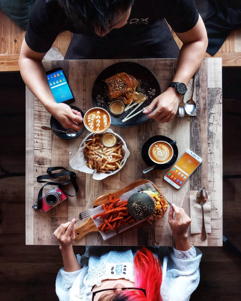The Flat Lay Style Photography