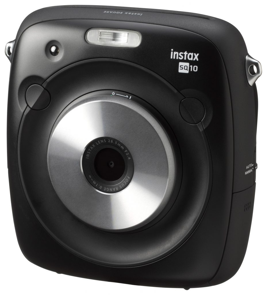 Instax Square SQ 10 design and shape