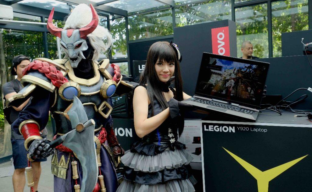 The Lenovo Legion Y920 Laptop