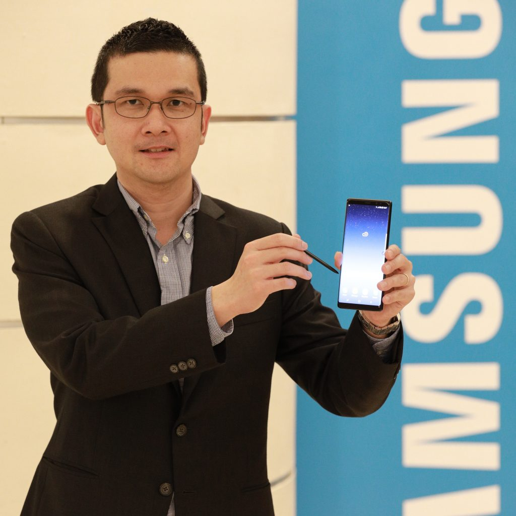 Julian Thean, Head of Product Marketing, IT and Mobile Business, Samsung Malaysia Electronics.