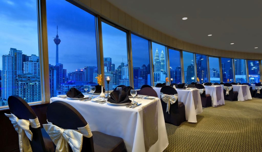 Bintang Revolving Restaurant in Federal Hotel