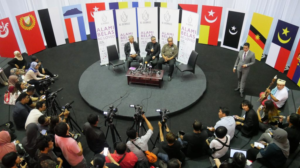 Press Conference during the launch