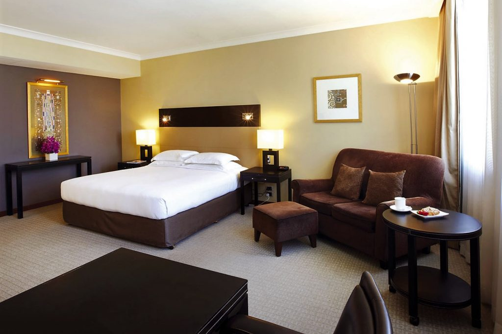 Rooms that are offered by The Grace Hotel