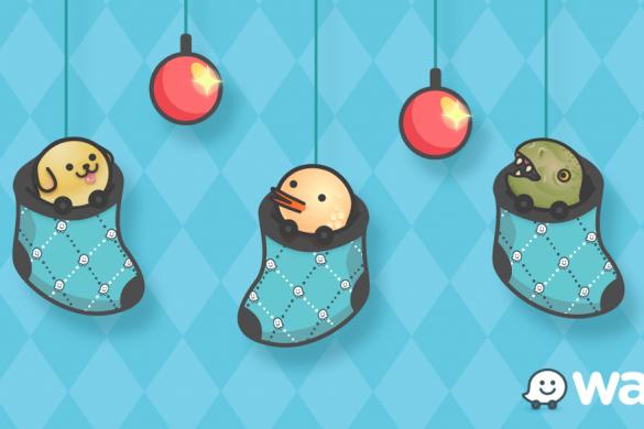 Waze Christmas