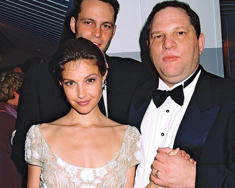 Ashley Judd and Harvey Weinstein