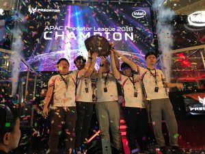 Geek Fam from Malaysia conquered new worlds to lift the APAC Predator League shield in Jakarta