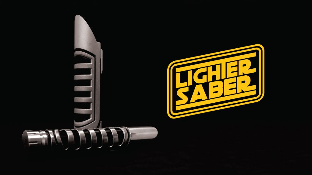 Fulfill Your Destiny With the LighterSaber