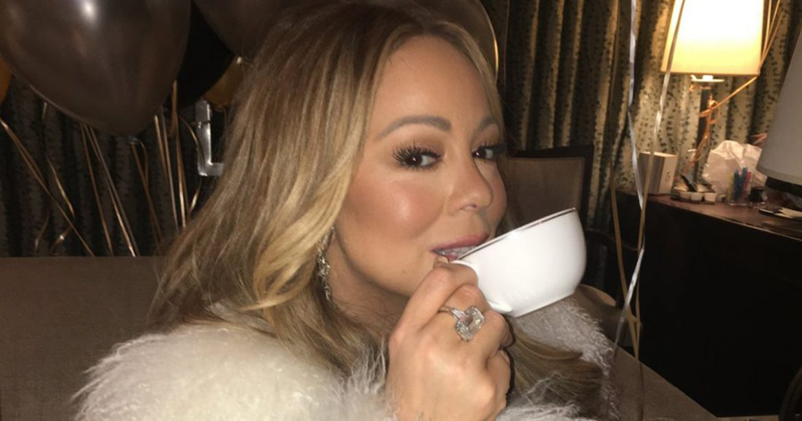 https://twitter.com/MariahCarey/status/947733819553181696 Found my tea! Mariah Carey @MariahCarey  Source: Mariah Carey Twitter