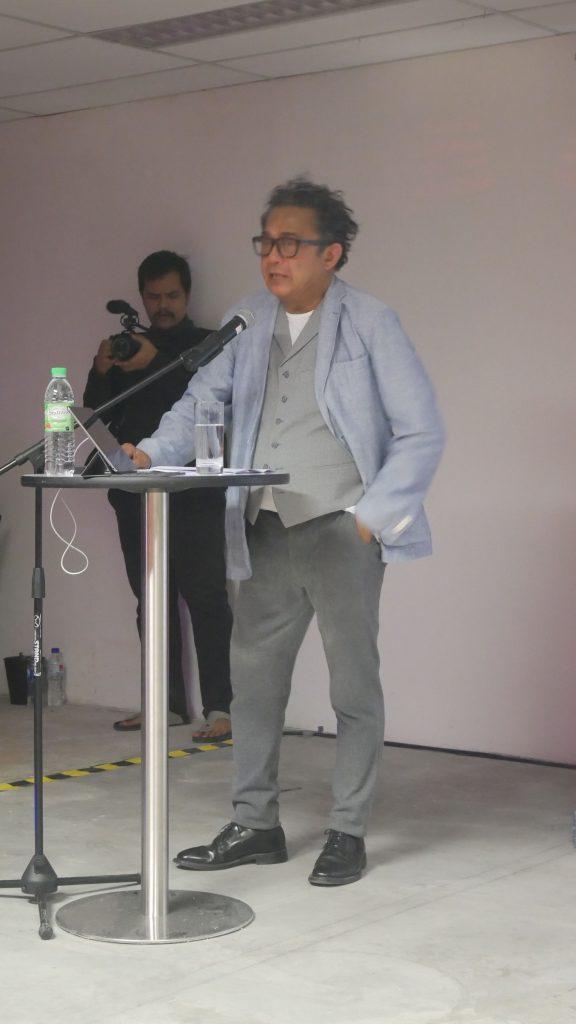 Dain Said, local writer and director