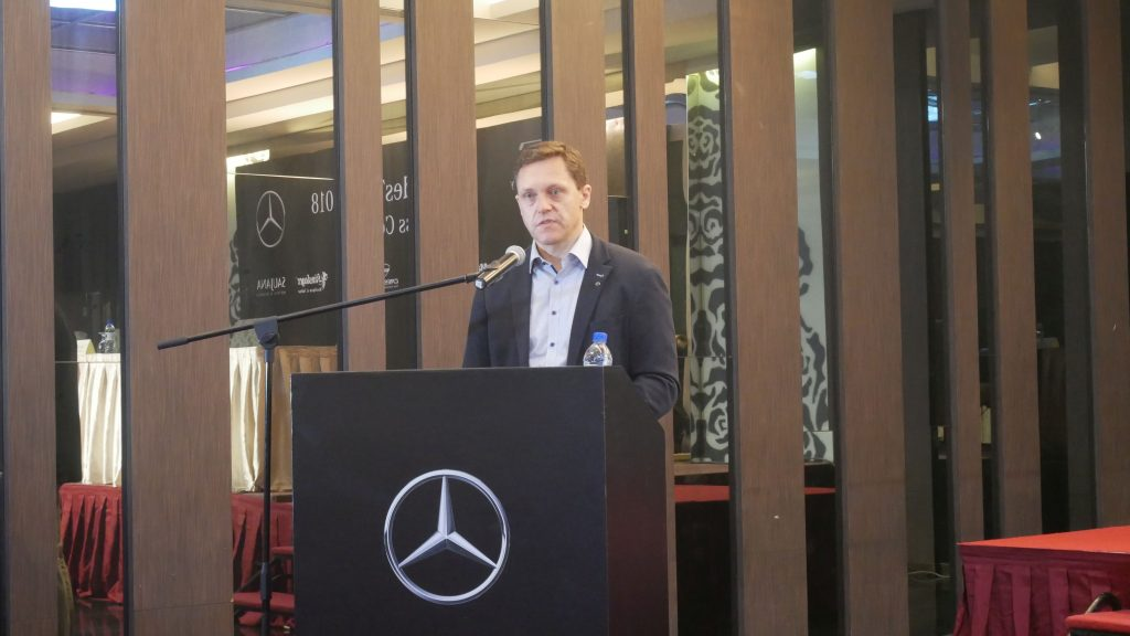 Dr Claus Weidner, President & CEO, Mercedes-Benz Malaysia
