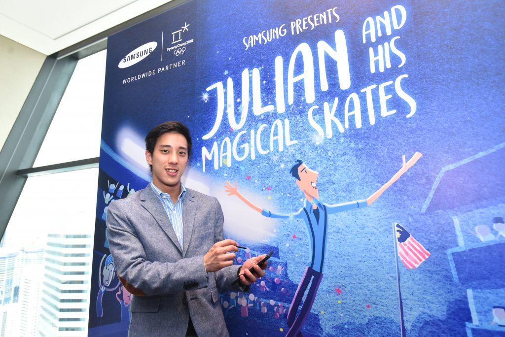 Julian Yee, Malaysian Olympic Figure Skater