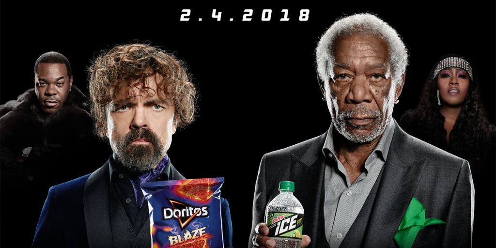 Morgan Freeman and Peter Dinklage Spit Rhymes for A Superbowl Advertisement