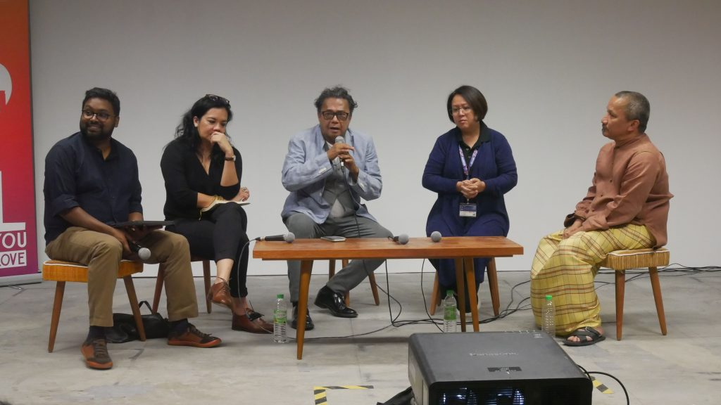 Panel discussion with Director Dain Said, Author/Director Bernice Chauly, George Town Film Festival Director Joe Sidek and Think City Programme Director for Partnerships Lee Jia-Ping