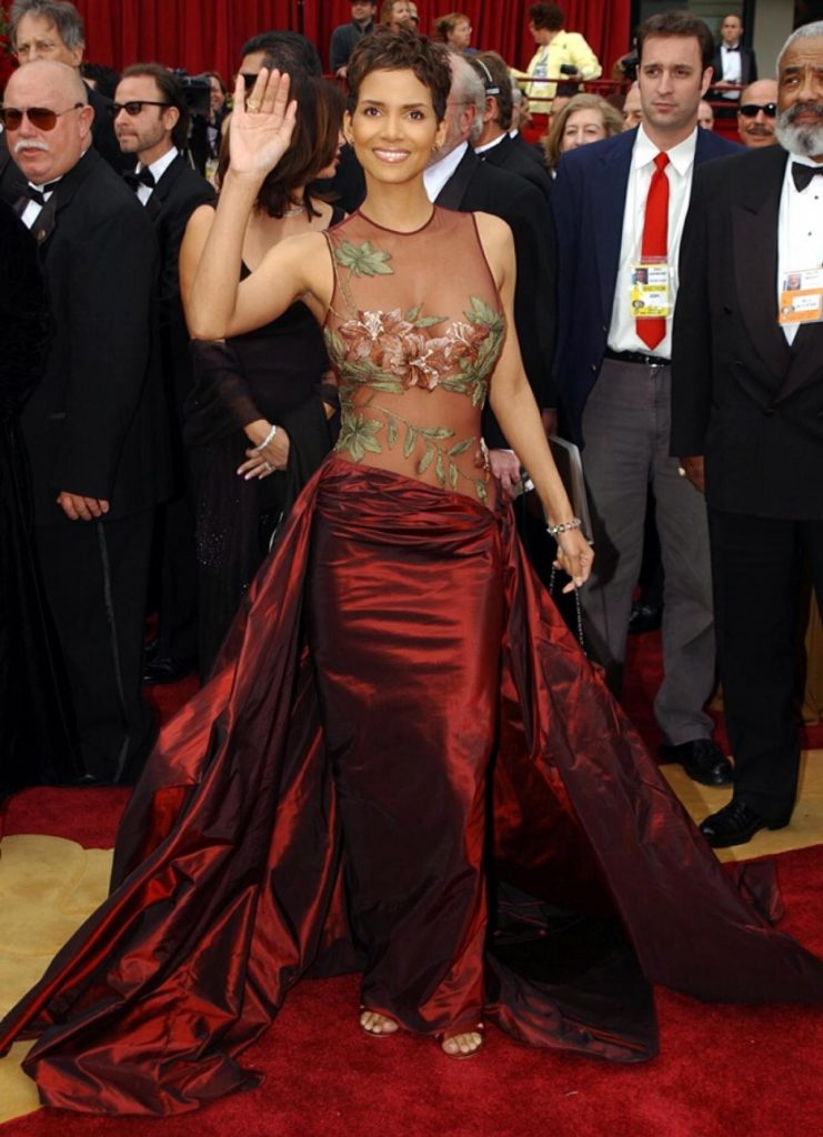 red halle berry