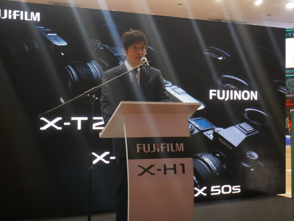 Fujifilm Malaysia Managing Director, Yoshitaka Nakamura