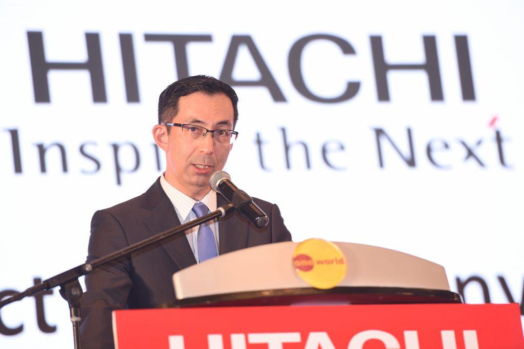 Takahiro Ishii, Managing Director of Hitachi Sales (Malaysia) Sdn Berhad