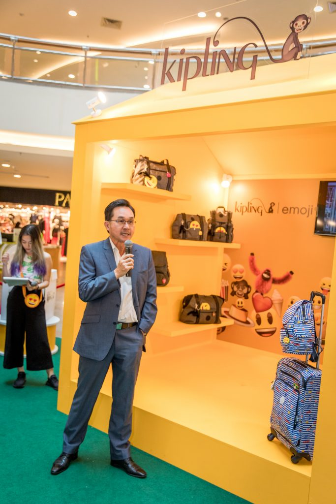 Mr Tan Seong Teck, Executive Director of RAM Pacific Distribution Sdn Bhd, Sole Distributor of KIPLING in Malaysia shares about The KIPLING Initiative, supported by the Department of Wildlife and National Parks Peninsular Malaysia (PERHILITAN).