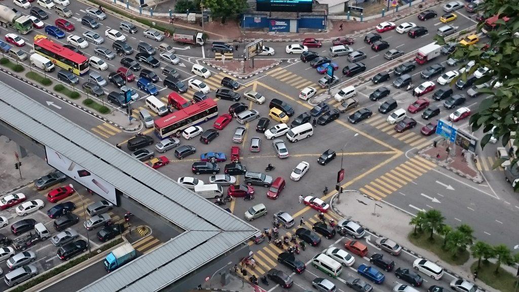Traffic Jam in Kuala Lumpur