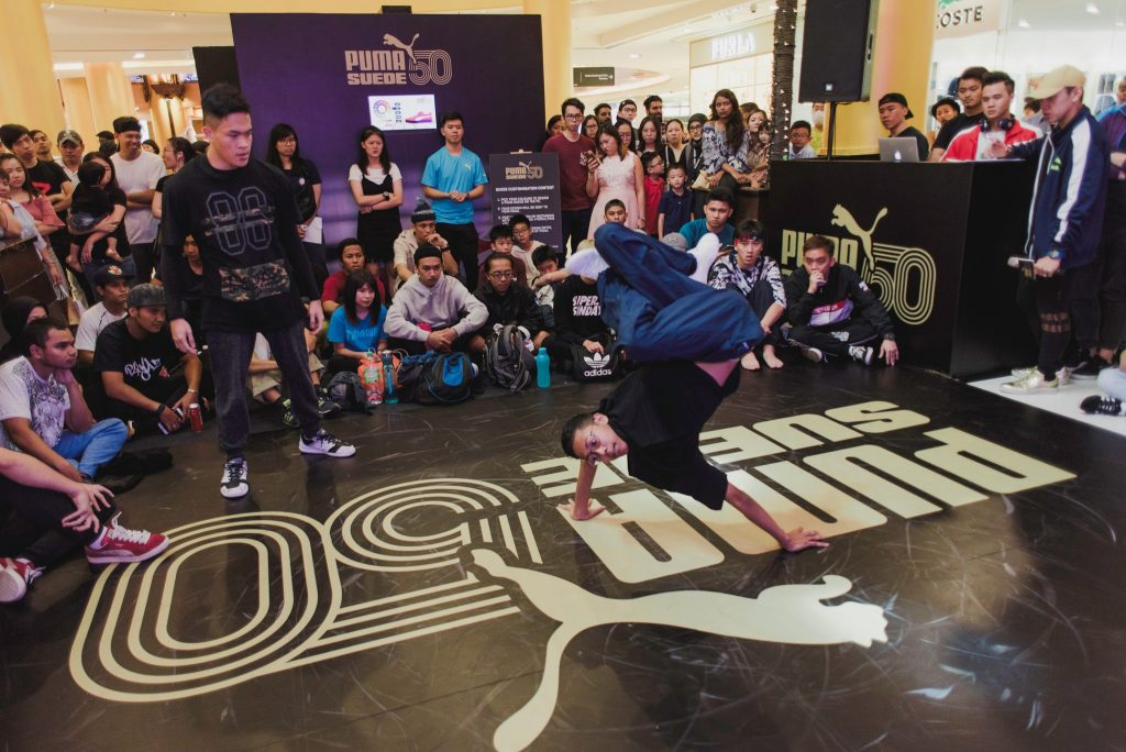 B-Boy dance competitions