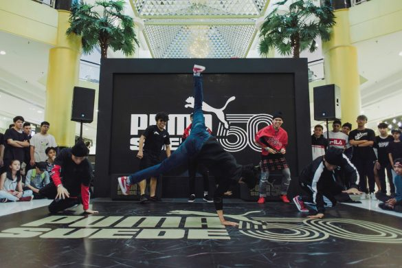 B-Boy performance by Khenobu and his crew