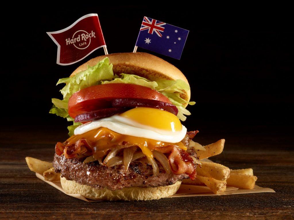 Sydney Aussie Burger