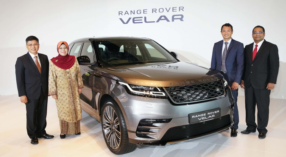 Range Rover Velar Launch Photo