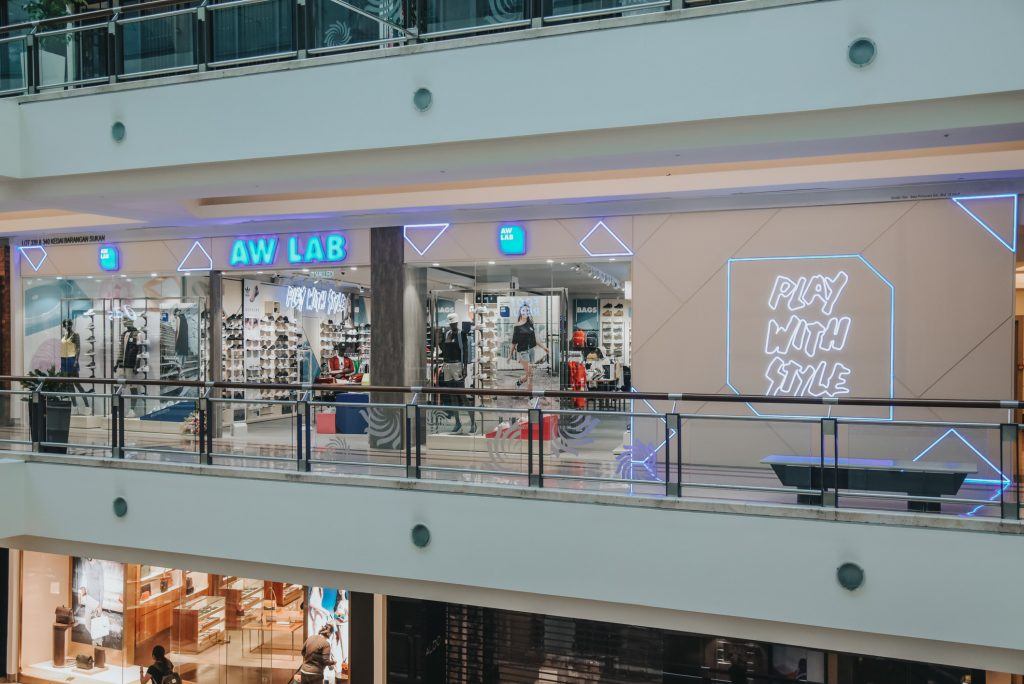 AW LAB first flagship store in KLCC