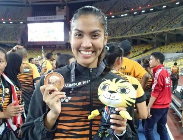 SEAGAMES Bronze Medalist - Woman 4 x 400m