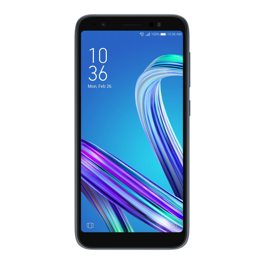 ZenFone Live (L1)_ZA550KL_Product Photo_Midnight Black_01