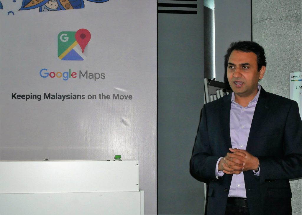 Director, Google Maps for Next Billion Users Suren Ruhela
