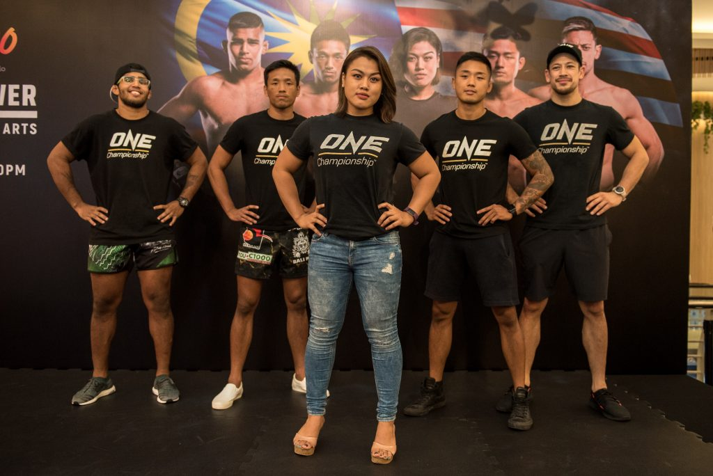 ONE Championship Superstar Ann Osman Holds Media Open Workout In Kuala Lumpur