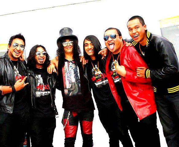 A picture with Slash!