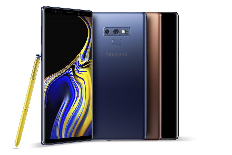 Samsung Galaxy Note9 Group Shot